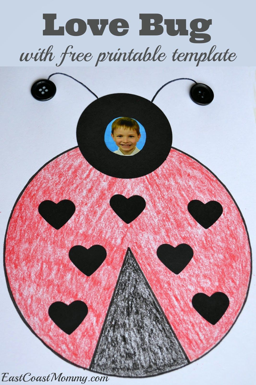 Number Crafts Lovely Love Bug Bright Horizons