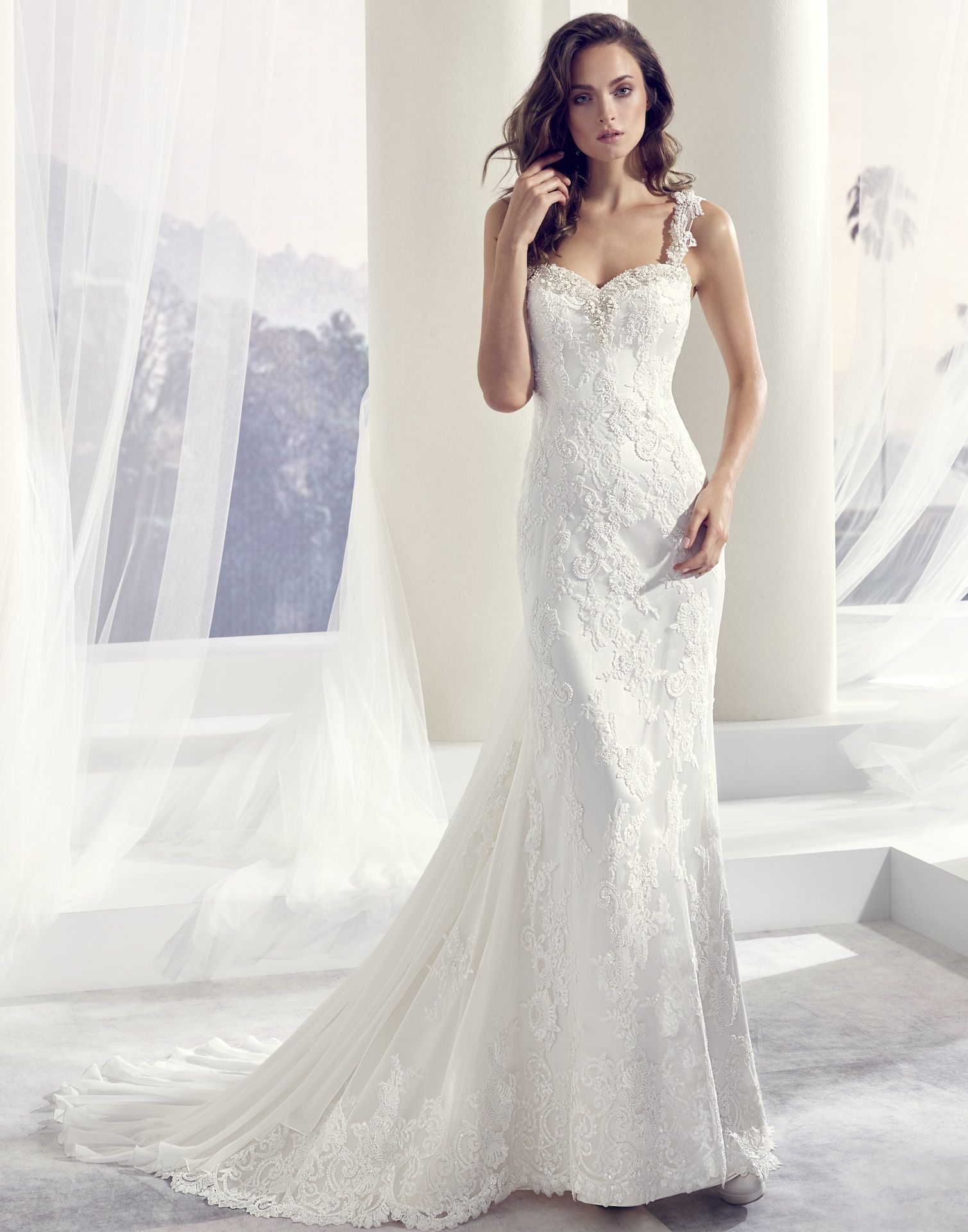 TILLY // This luxurious wedding dress is created from the finest ...