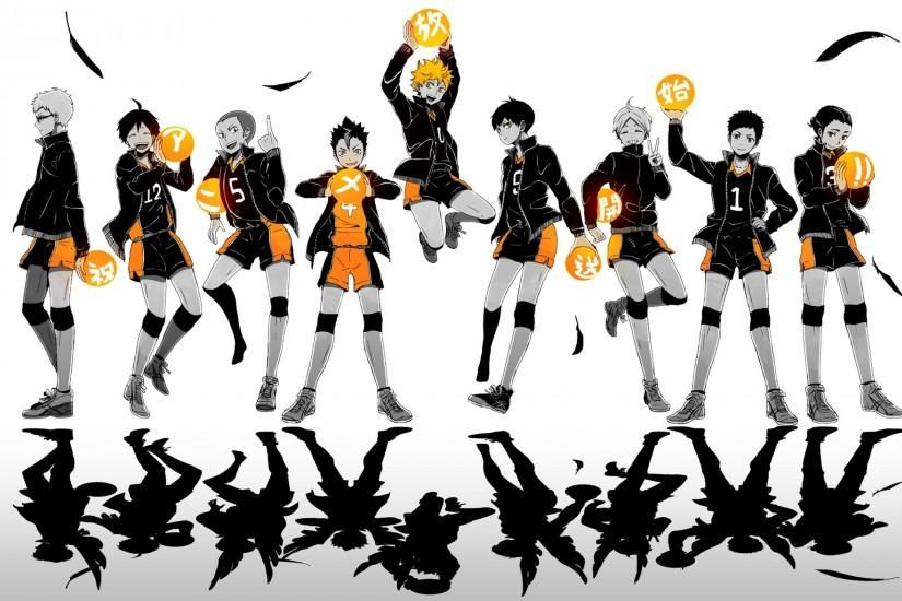 Haikyuu Wallpaper Download Free Cool High Resolution Wallpapers For Desktop Mobile Laptop In Any Resolution De Haikyuu Wallpaper Haikyuu Haikyuu Karasuno