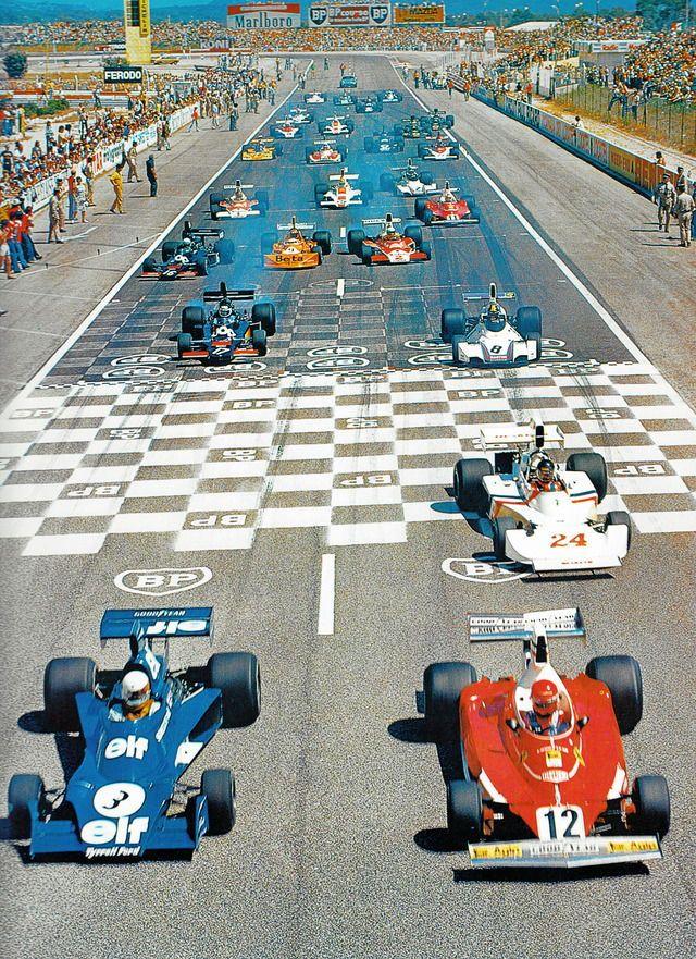 Le Castellet Paul Ricard '75 Formule 1, Voiture de