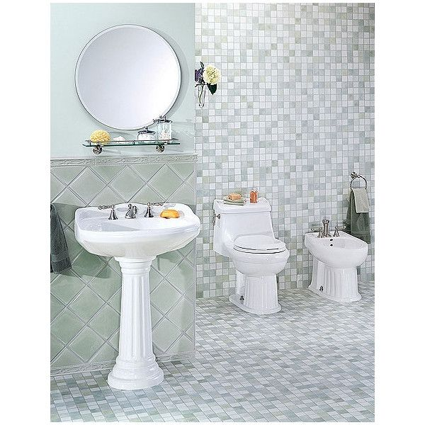 Shop Wayfair For Pedestal Sinks To Match Every Style And Budget