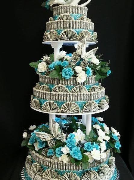 WeddingMoneyCakeFrontView9445x600jpg 445600 Money Party