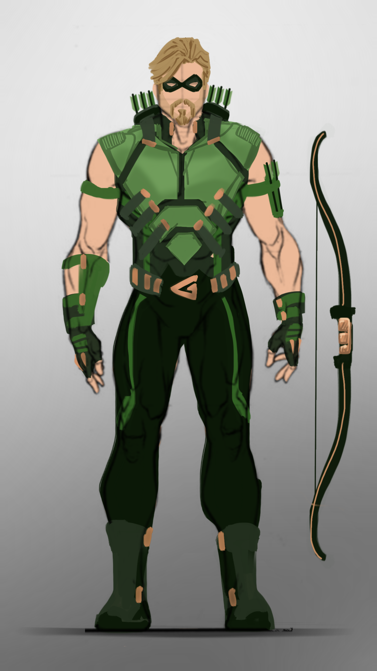 Green Arrow Emerald Archer I Wanted To Do Something A Bit More Custom Familiar Compared To The Last Green Arrow Comics Green Superhero Green Arrow Cosplay