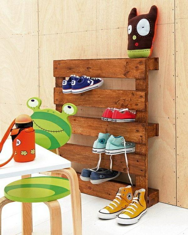 Selber Manchen   Schuhaufbewahrung Einlage Aus Holz   Selbermachen U2013 35  Coole Schuhaufbewahrung Ideen
