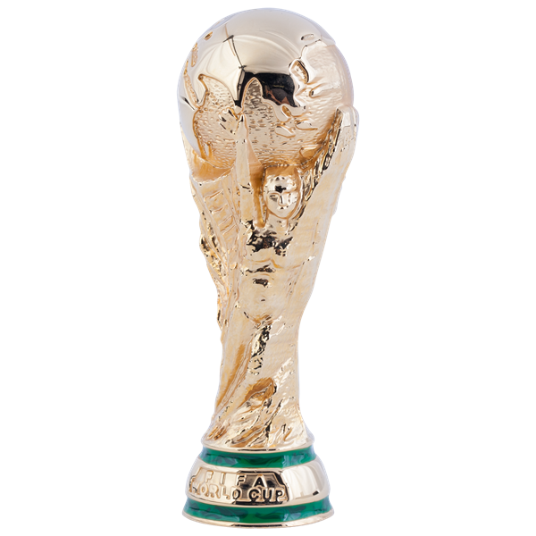 Introduced In 1974 The Current World Cup Trophy Shows Two People Holding Up The Earth Br Br Get Ready For The Tournamen World Cup Trophy Fifa Fifa World Cup