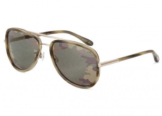 Trussardi 1911 Limited Edition Camouflage Sunglasses, fall winter 2011  #camo #trussardi #sunglasses