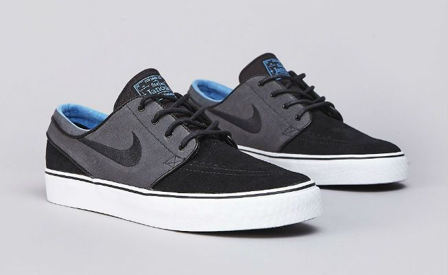 hot sale online 32a1d 091f4 Nike SB Stefan Janoski Black Anthracite Distinct Blue