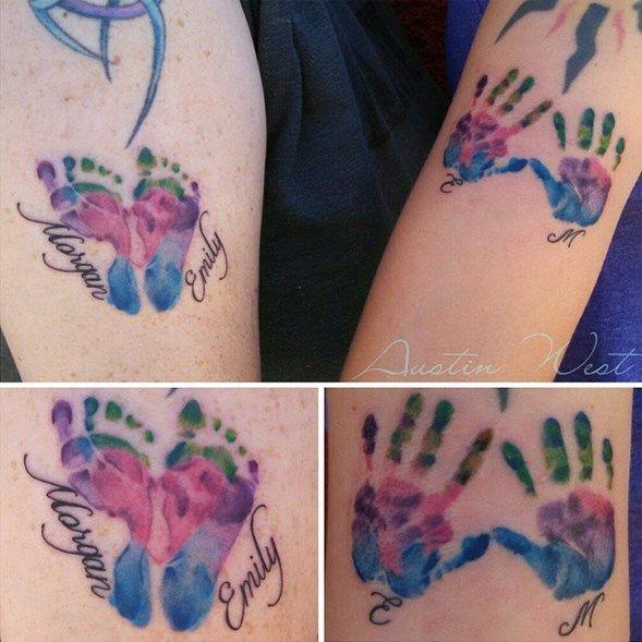 70 Tatouages De Mamans Qui Ont Leur Bebe Dans La Peau Tattoos I
