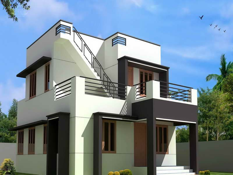 modern small house plans simple plan designs home design chinese indian - Simple House Design With Second Floor