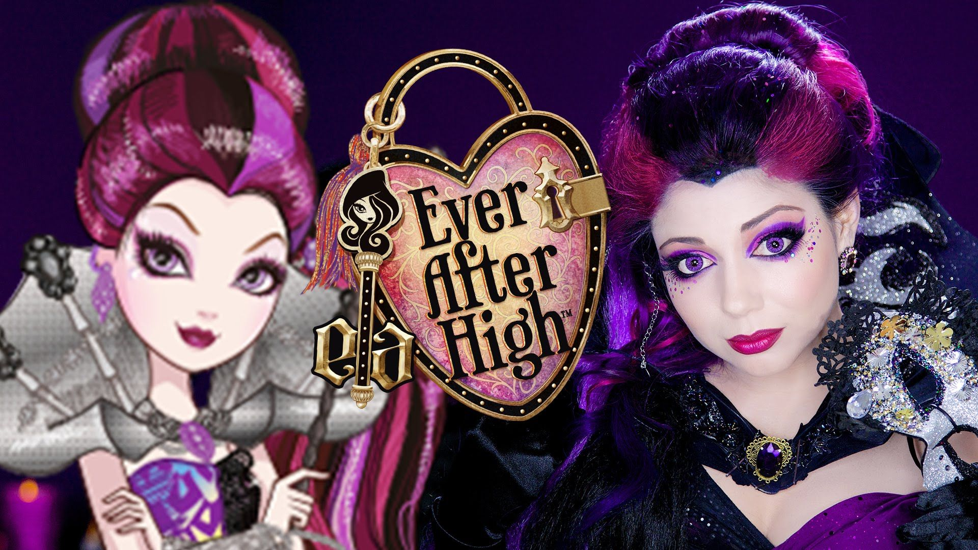 Ever After High Makeup: Raven Queen Thronecoming! | COSTUMES ...