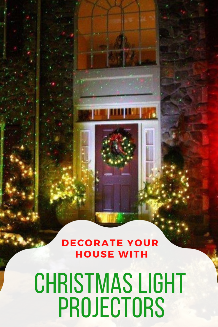 Decorating with Outdoor Christmas Light Projectors | Christmas Light ...