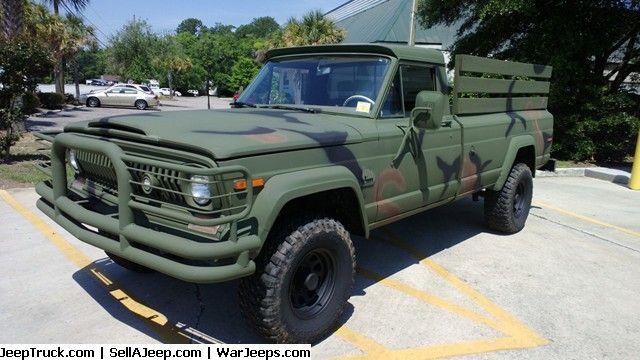1973 Jeep J 4000 Truck 1 2 Ton Trucks Jeep Truck Used Jeep