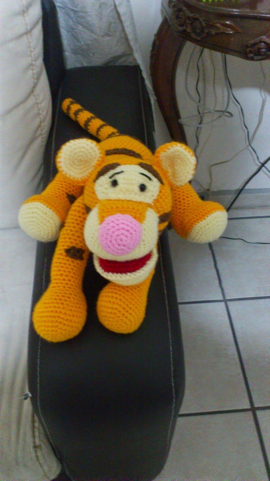 Amigurumi Tigger - FREE Crochet Pattern / Tutorial | crochet ...