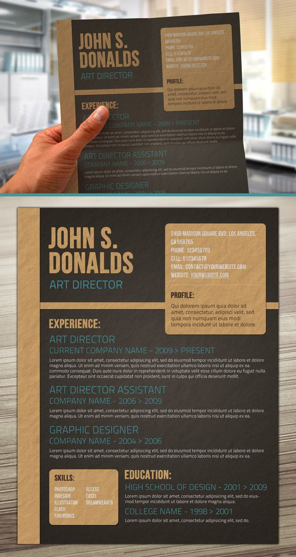 You can see the full preview along with other great resume designs - see resumes