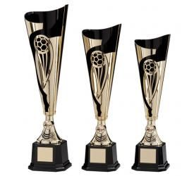 We have a wide online selection of high-quality & cheap football trophies, perfect for Men's & Women's Football teams as well as end of season and man of the match awards, select your category below to start browsing or view our football medals for even more choice.