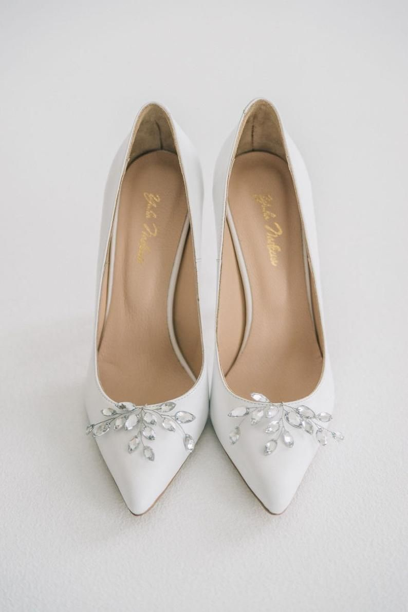 Wedding Shoes White Wedding Shoes Bridal Shoes Wedding Etsy In 2020 Bridal Shoes Manolo Blahnik Heels Wedding Shoes