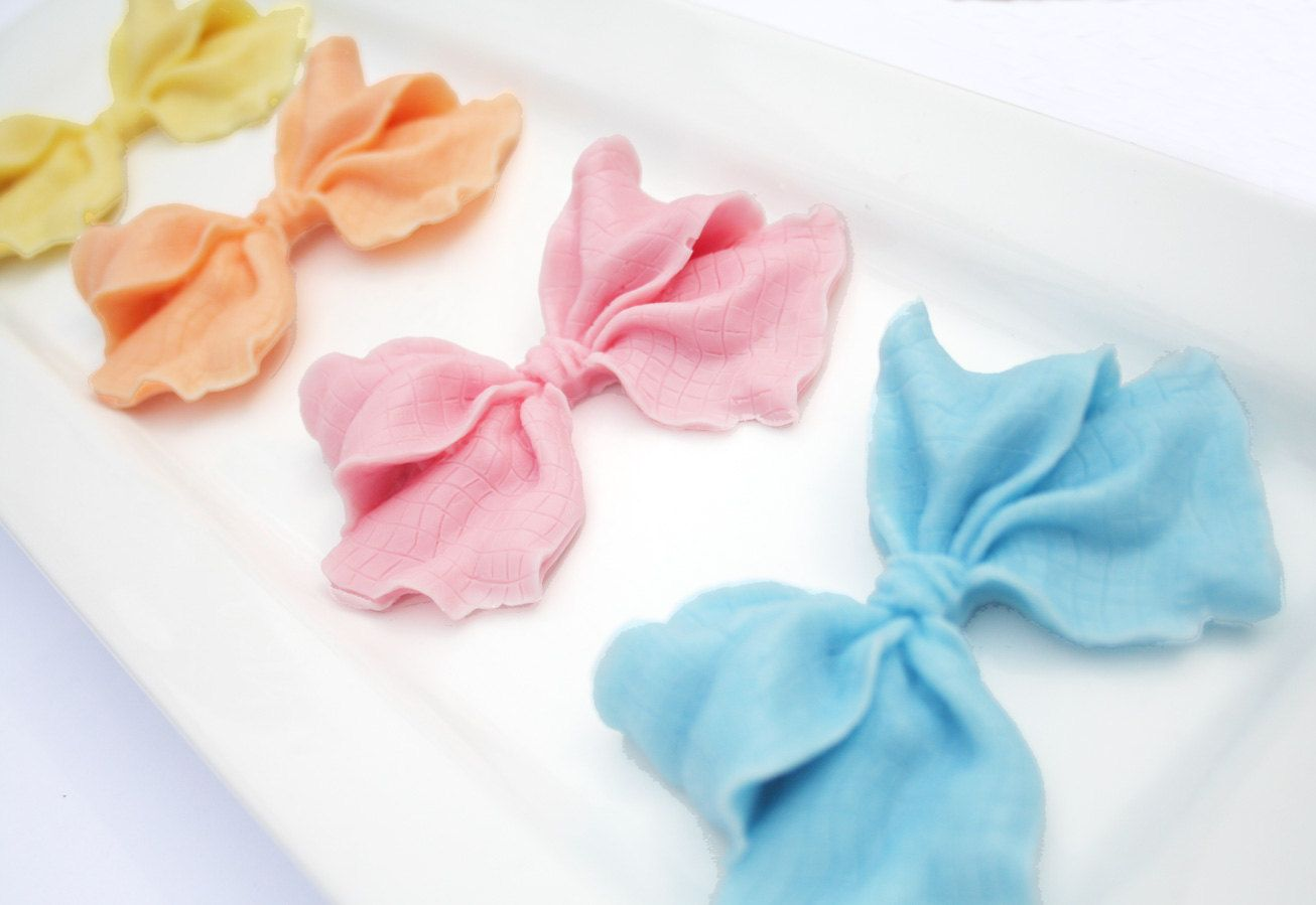 Beautiful Bow Soap Favors - Vegan Wedding Favors, Baby Shower Favors ...