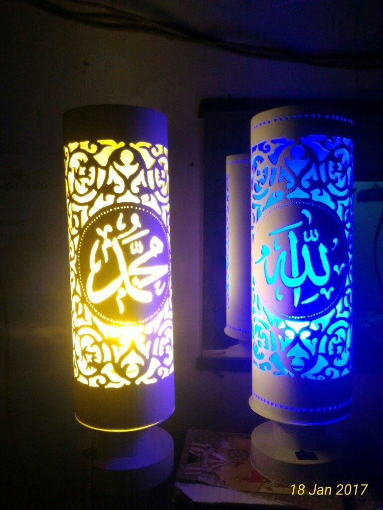 Pin oleh Damar di Lampu Kaligrafi | Lampu, Kaligrafi, dan Seni