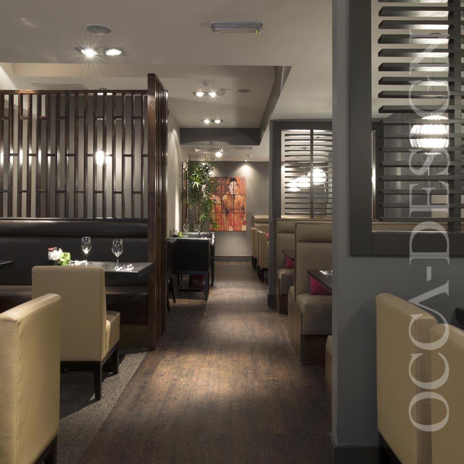 oriental, asian restaurant, glasgow, scotland, retail interior