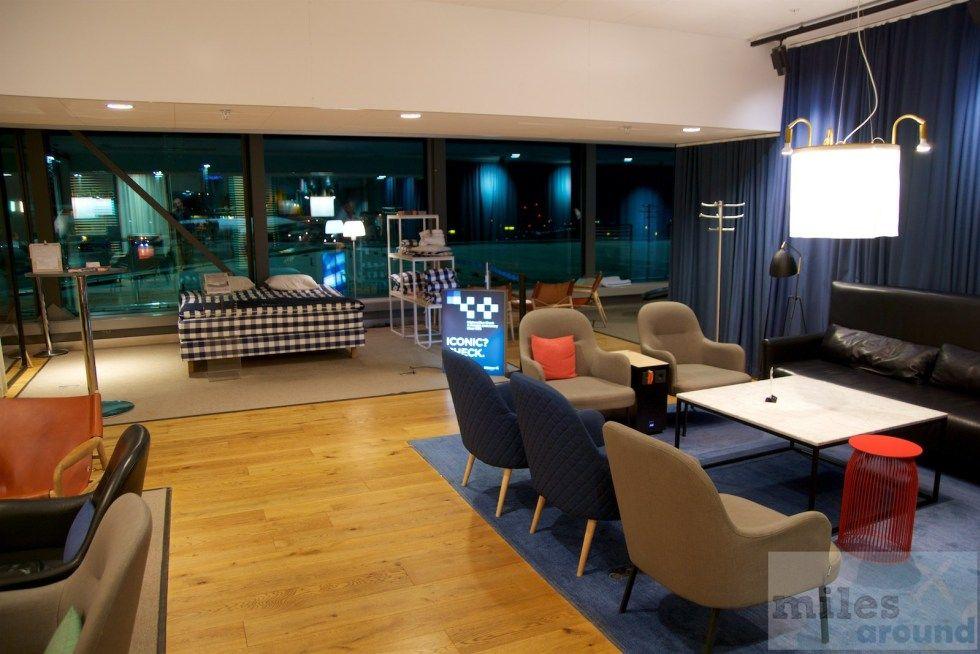 Lounge Review SAS Gold Lounge Stockholm (mit Bildern