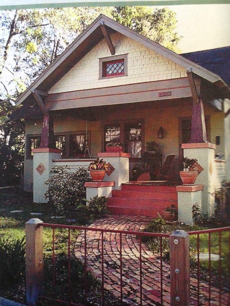 1917 craftsman bungalow in downtown deland florida - Craftsman style homes exterior photos ...