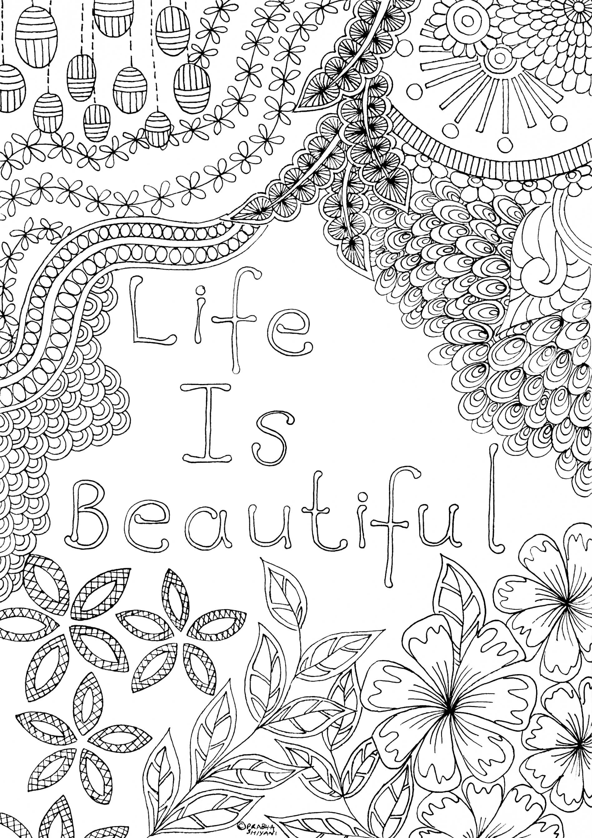 Mindful Affirmation Colouring Book