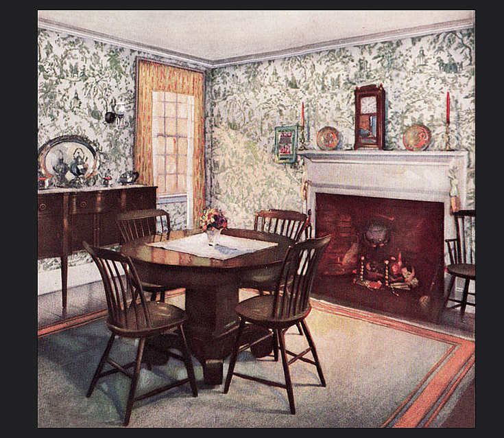 1920 S Interior 1920s Home Decor Vintage Home Decor Traditional Dining Room