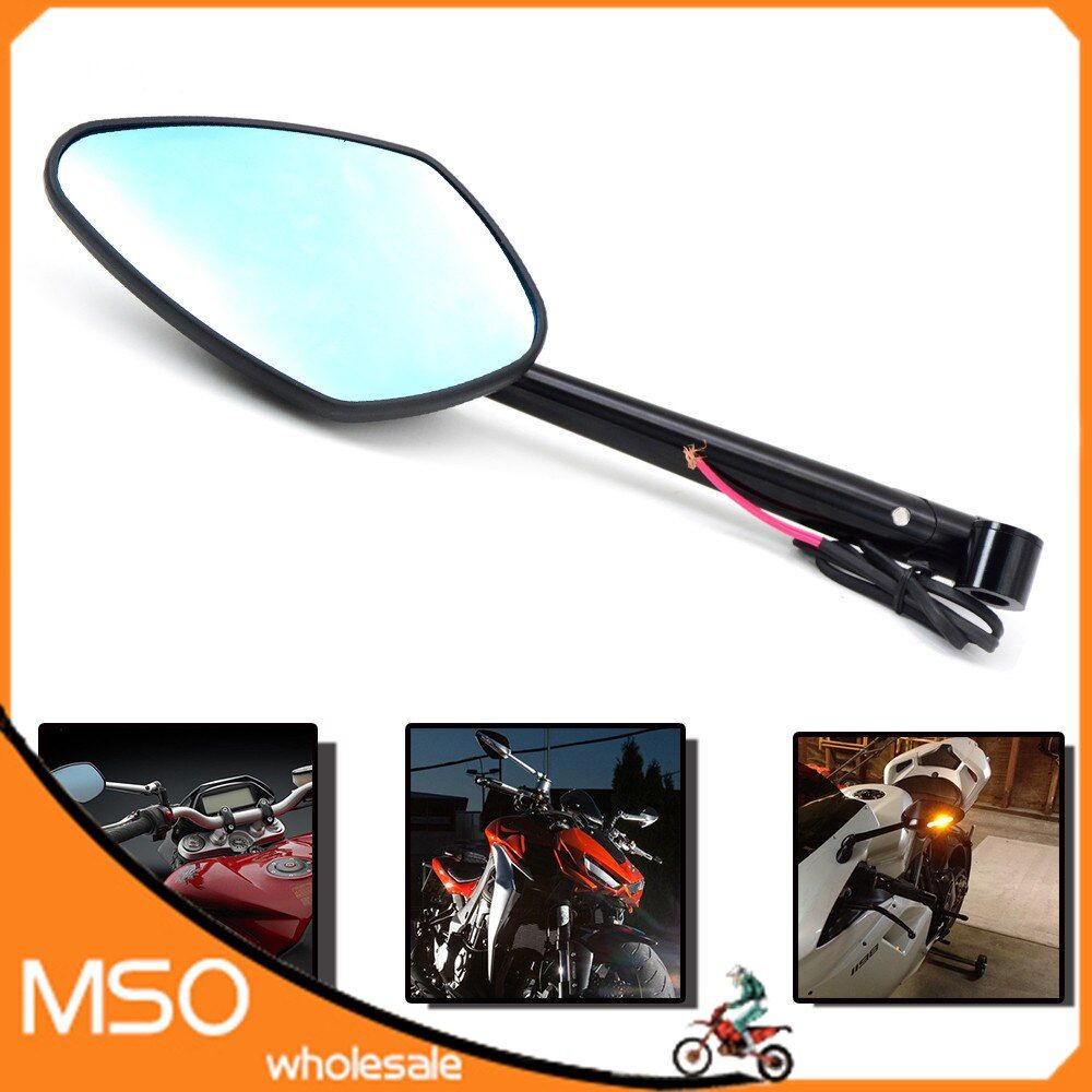 Special Offer M8 M10 Universal Folding Motorcycle Mirror Motorbike