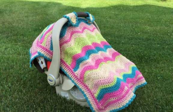 Free Pattern Crochet Baby Capsule Blanket Baby Pinterest