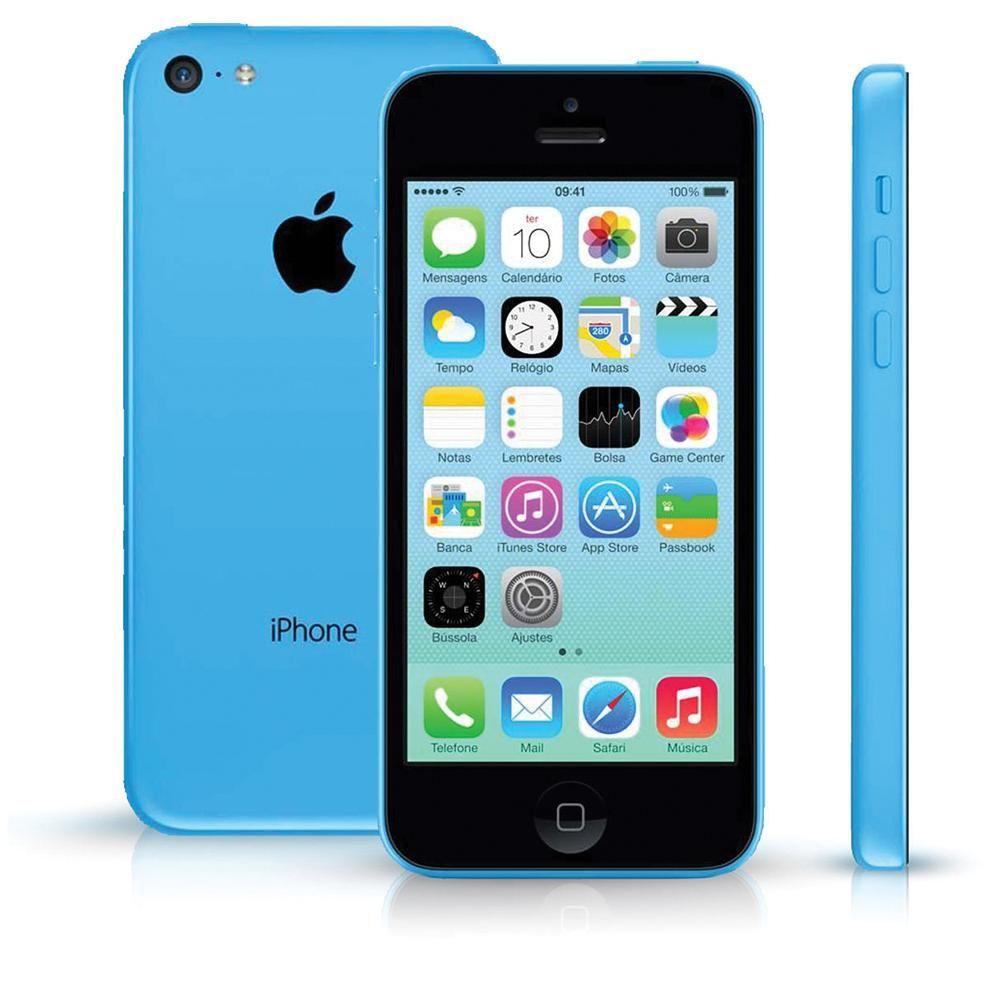 Apple Iphone C Gb Memoria Azul Desbloqueado Ios G