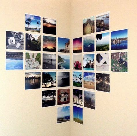 19 ideas geniales de Pinterest para decorar con fotos — cribeo ...