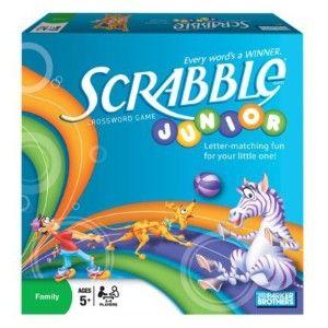 Hasbro Games Scrabble Junior Board Games Family Game Night