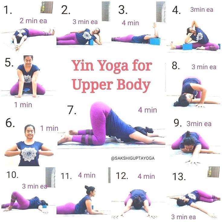 Various Yoga Asanas Yin Yoga Sequence Easy Yoga Workouts Yoga Asanas
