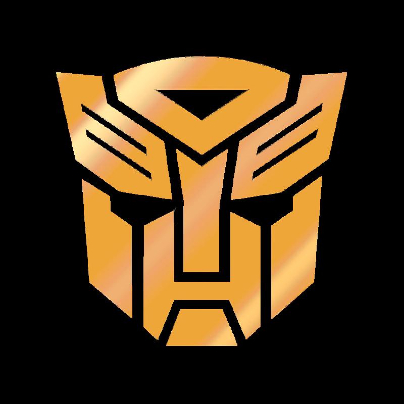 Gold Transformer Logo By Dandre Medhurst Transformer Logo Vector Logo Logos