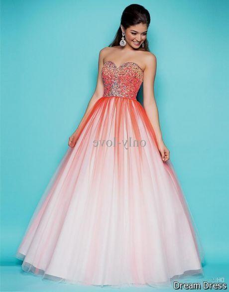 bright pink prom dresses 2017-2018 » DreaMyDress