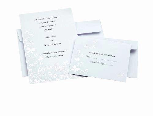 Wilton Invitation Kit Template Wilton Butterfly Invitations - Wilton wedding invitation templates
