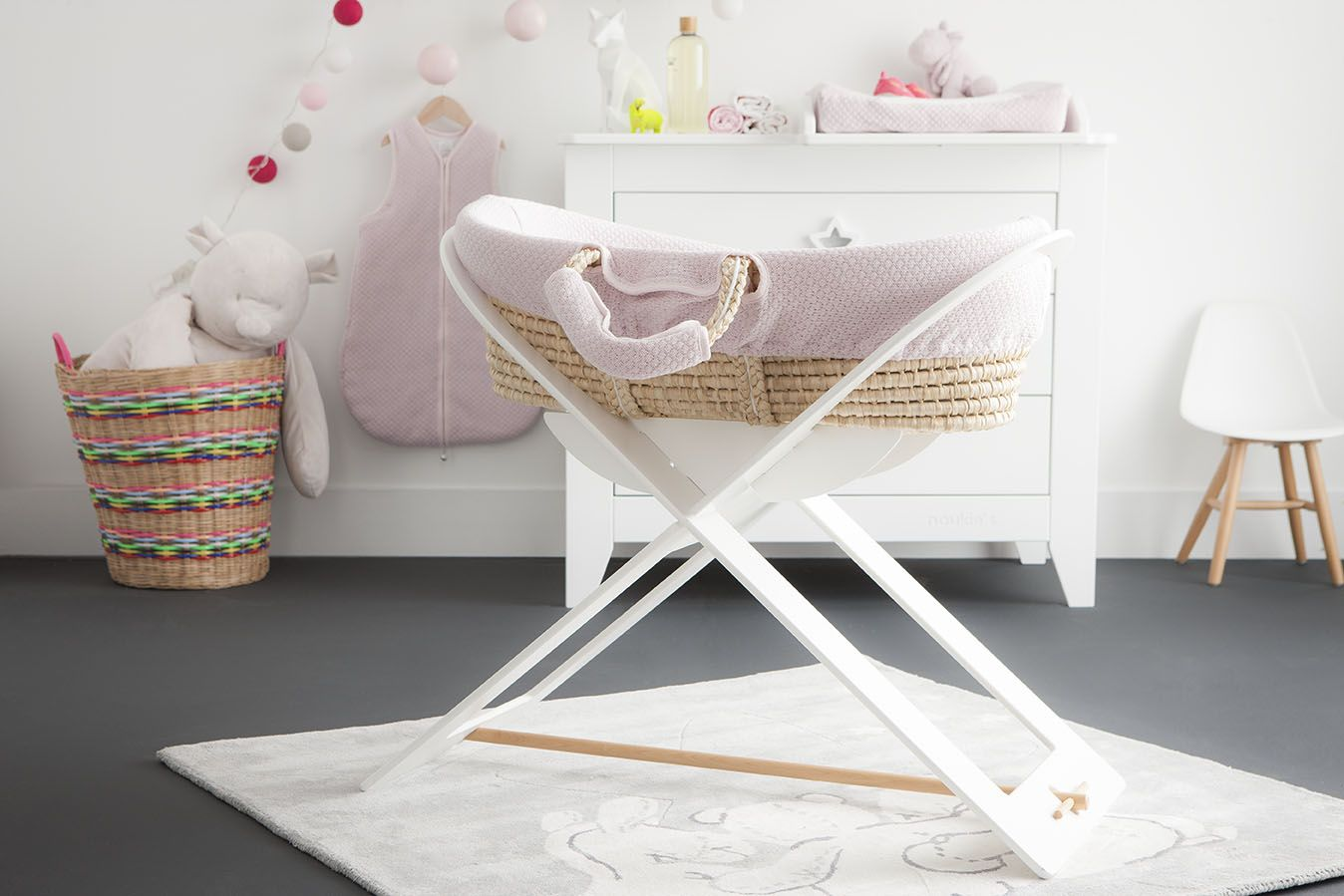 The Sublime Collection Noukie S Pink And Yellow Baby Room For Little Girls Chambre Bebe Rose E Chambre Bebe Rose Chambre Bebe Jaune Et Rose Chambre Bebe
