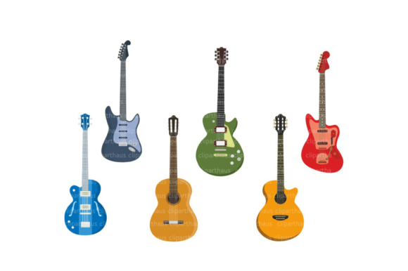 Guitar Clipart Guitar Vector Graphic By Svg Den Creative Fabrica Guitar Clipart Clip Art Blog Graphics