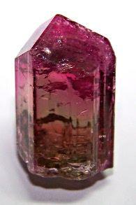 Liddicoatite var Tourmaline (Sodium Lithium Aluminum Boro-silicate Oxide Hydroxidem Fluoride)