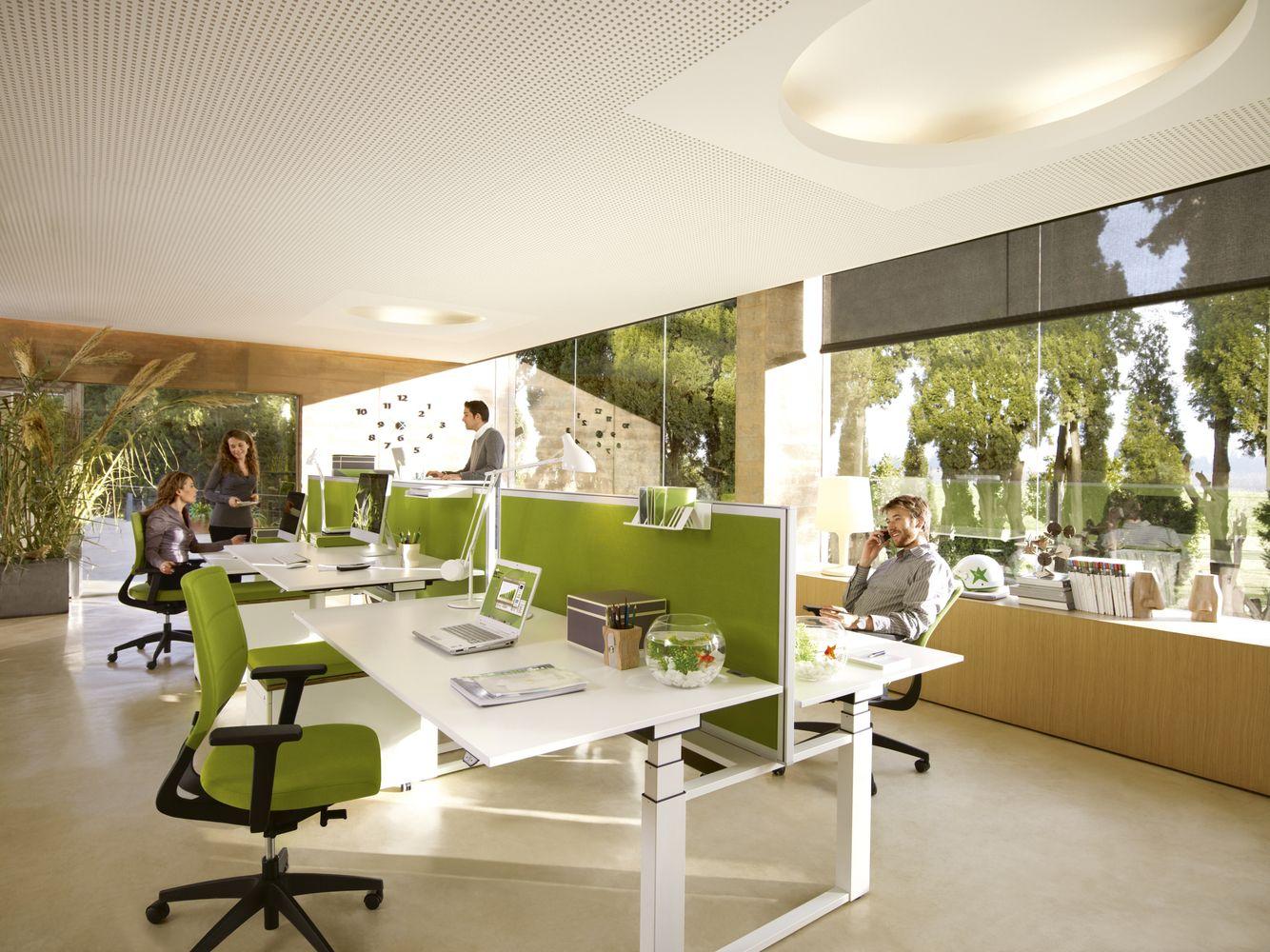Büromöbel Krefeld openspace büros großraumbüro und büroausstattung