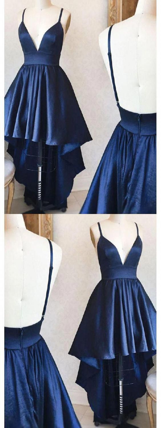 Comely Prom Dress Simple, Prom Dress Blue, High by PrettyLady on #promdressideas