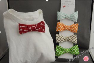Little Guy With a Bowtie Set by BeautifulDisarray on Etsy
