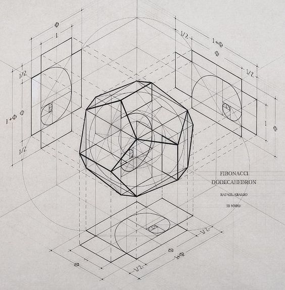 Venezuelan artist Rafael Araujo | Calculation / Sacred Geometry <3: