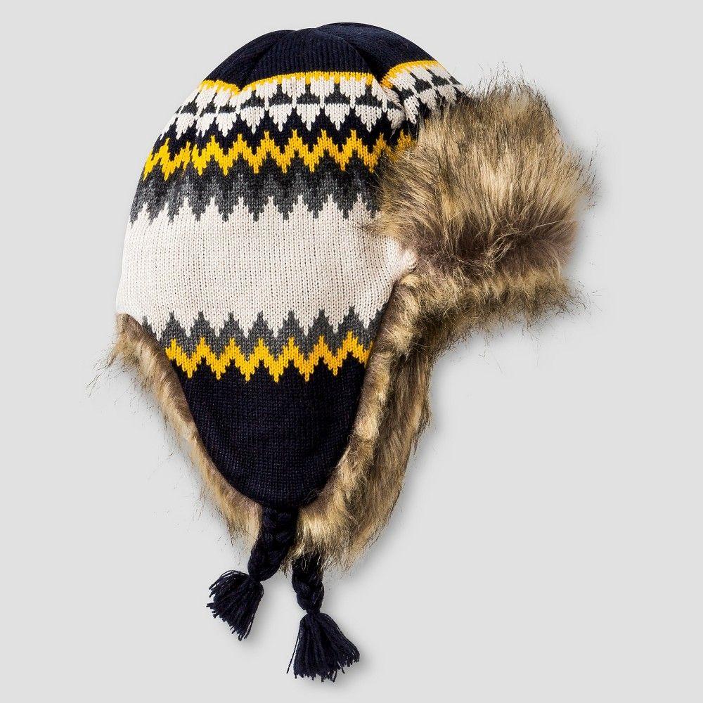 5032b406eda Boys  Trapper Hat Cat   Jack - Tan One Size
