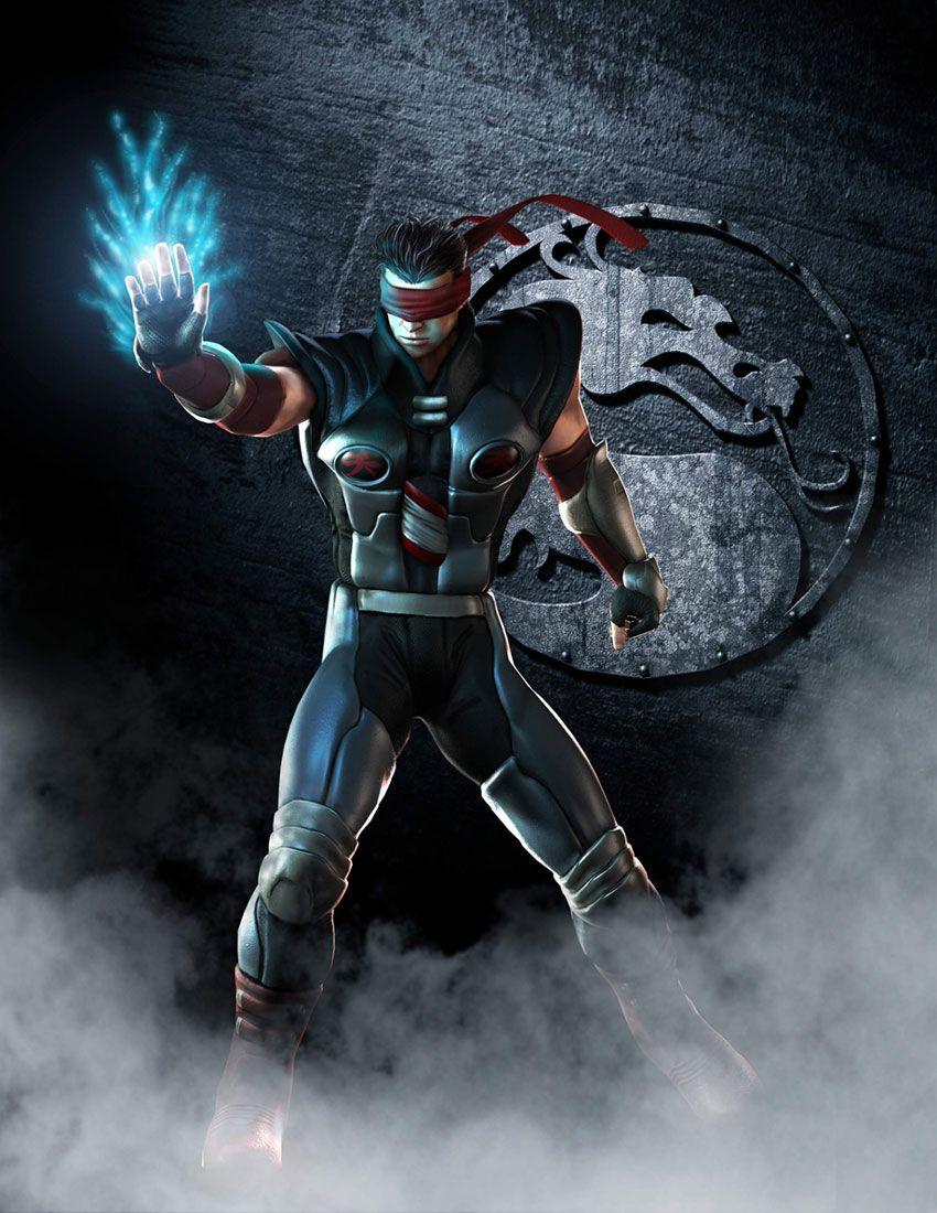 Kenshi Promotional Mortal Kombat Deception Art