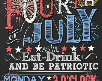 4th Of July Invites Fourth Of July Invites 4th Of July Party