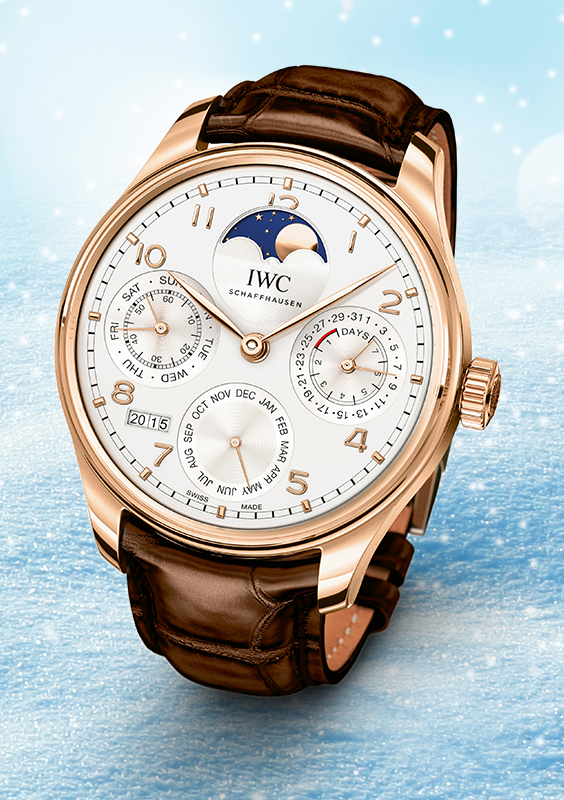 2d23a58b617 Relógios · Ready for the Holiday Season with the IWC Portugieser Perpetual  Calendar. Add it to your