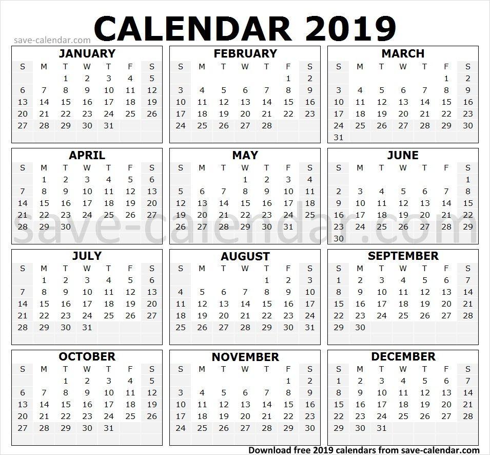 Quotes Teacher Calendar 2019 2020: Print 2019 Calendar By Month