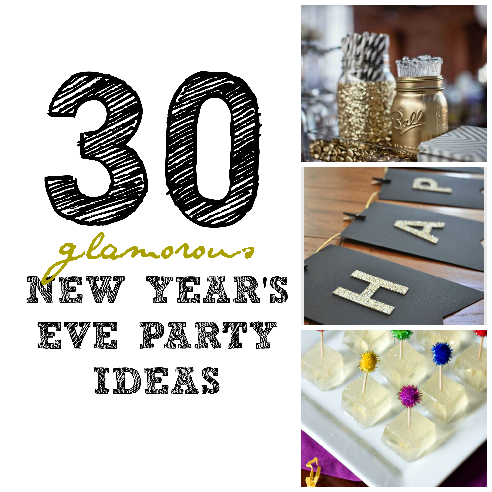 4 Festive Ideas to Ring in the New Year | New years eve ...