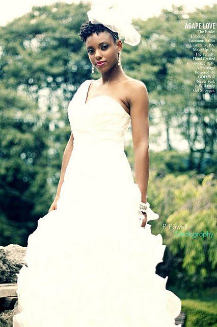 Natural Hair Bride Natural Wedding Hairstyles Natural Bridal